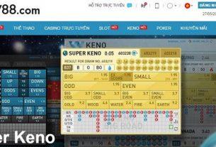 Hướng dẫn chơi Keno tại W88